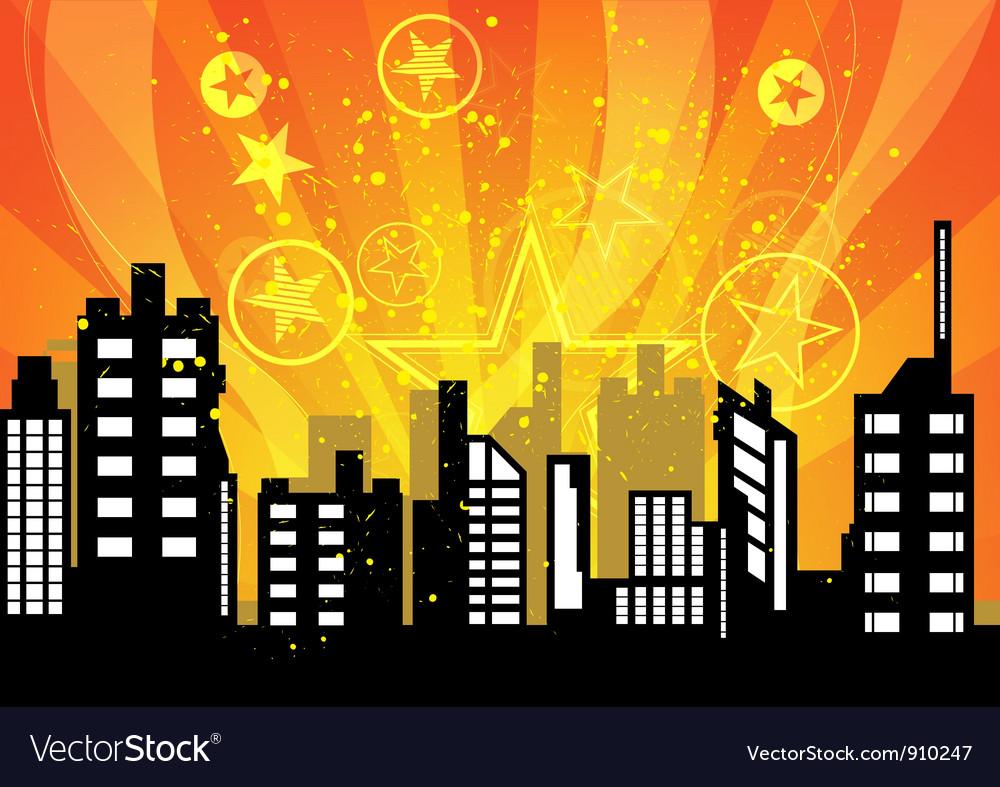 City celebrations vector | Price: 1 Credit (USD $1)