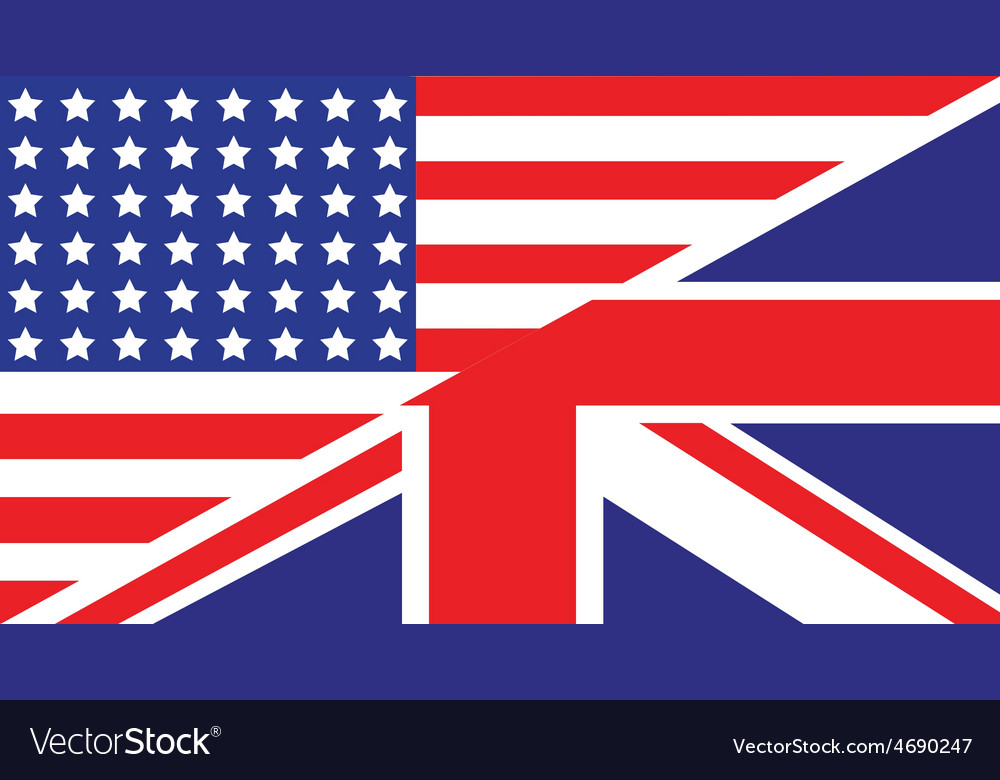 Usa uk flag unity1 vector | Price: 1 Credit (USD $1)