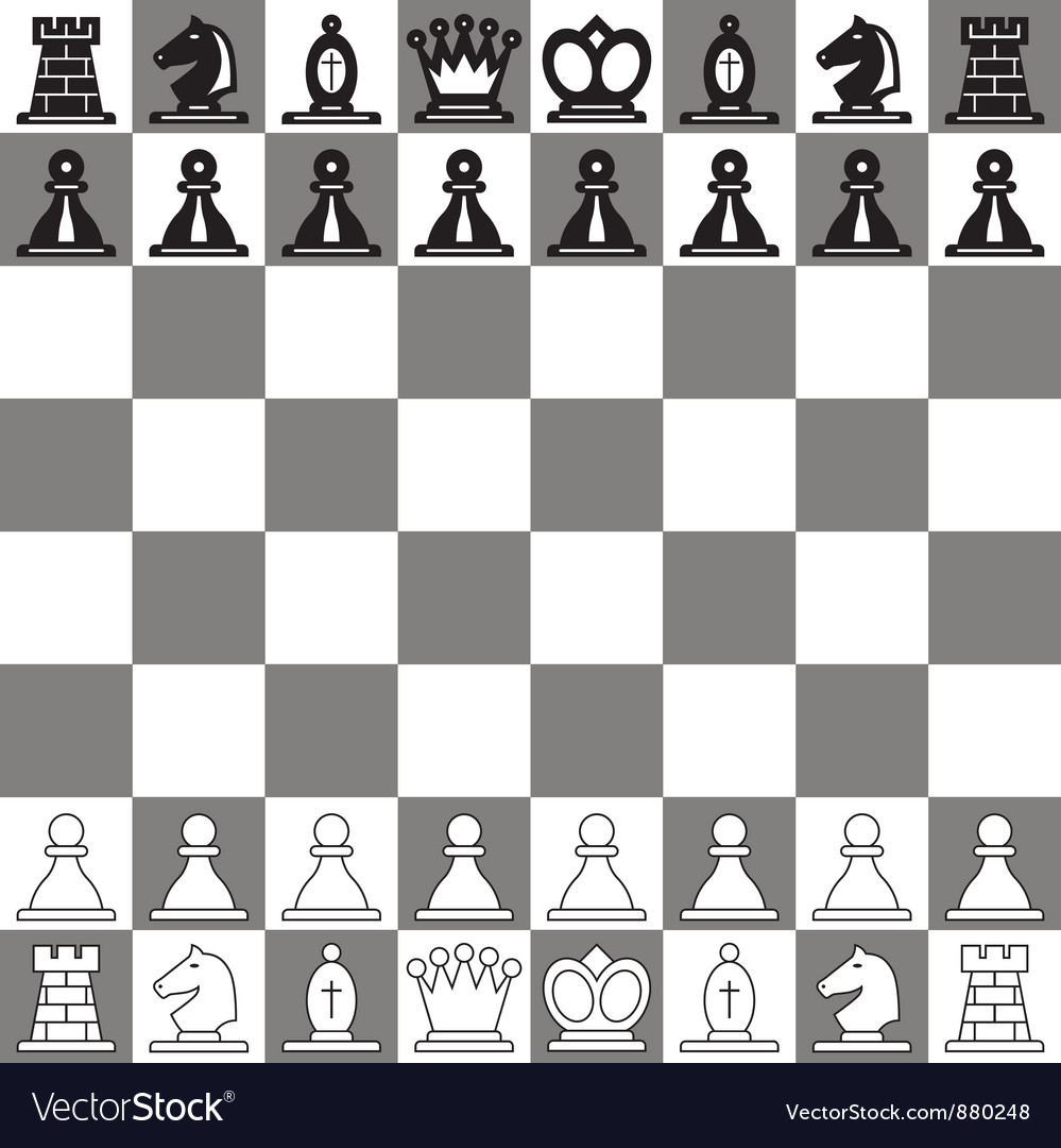 Chessboard vector | Price: 1 Credit (USD $1)