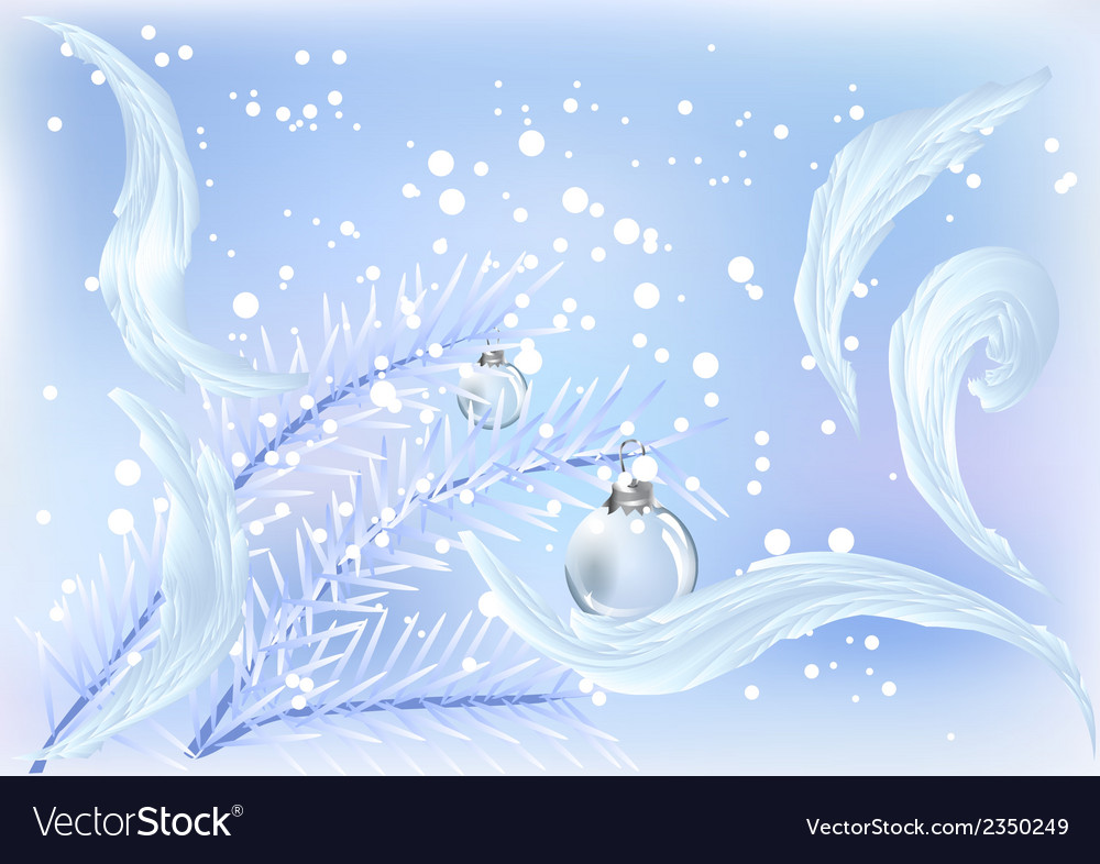 Chrismas outdoors vector | Price: 1 Credit (USD $1)