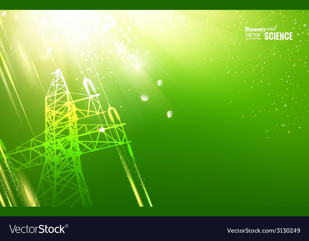 Electric tower vector | Price: 1 Credit (USD $1)
