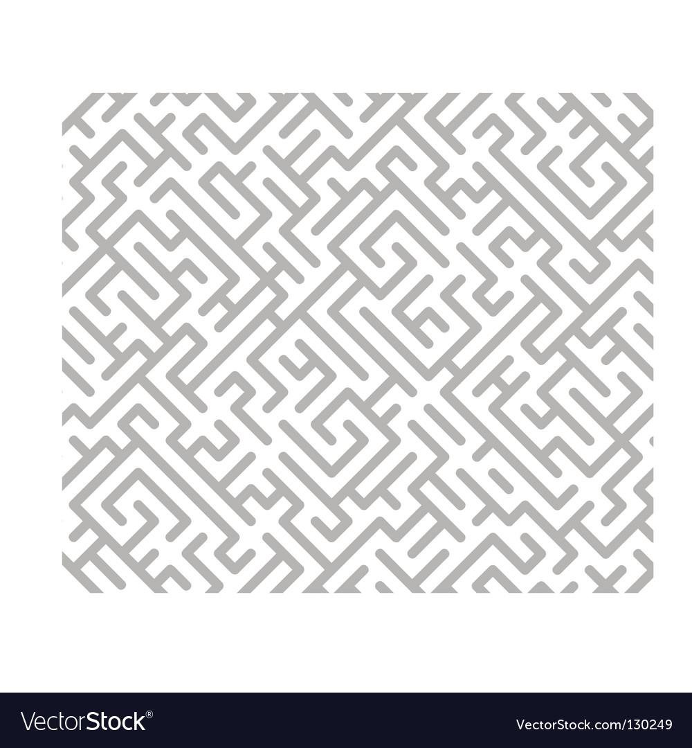Maze background vector | Price: 1 Credit (USD $1)