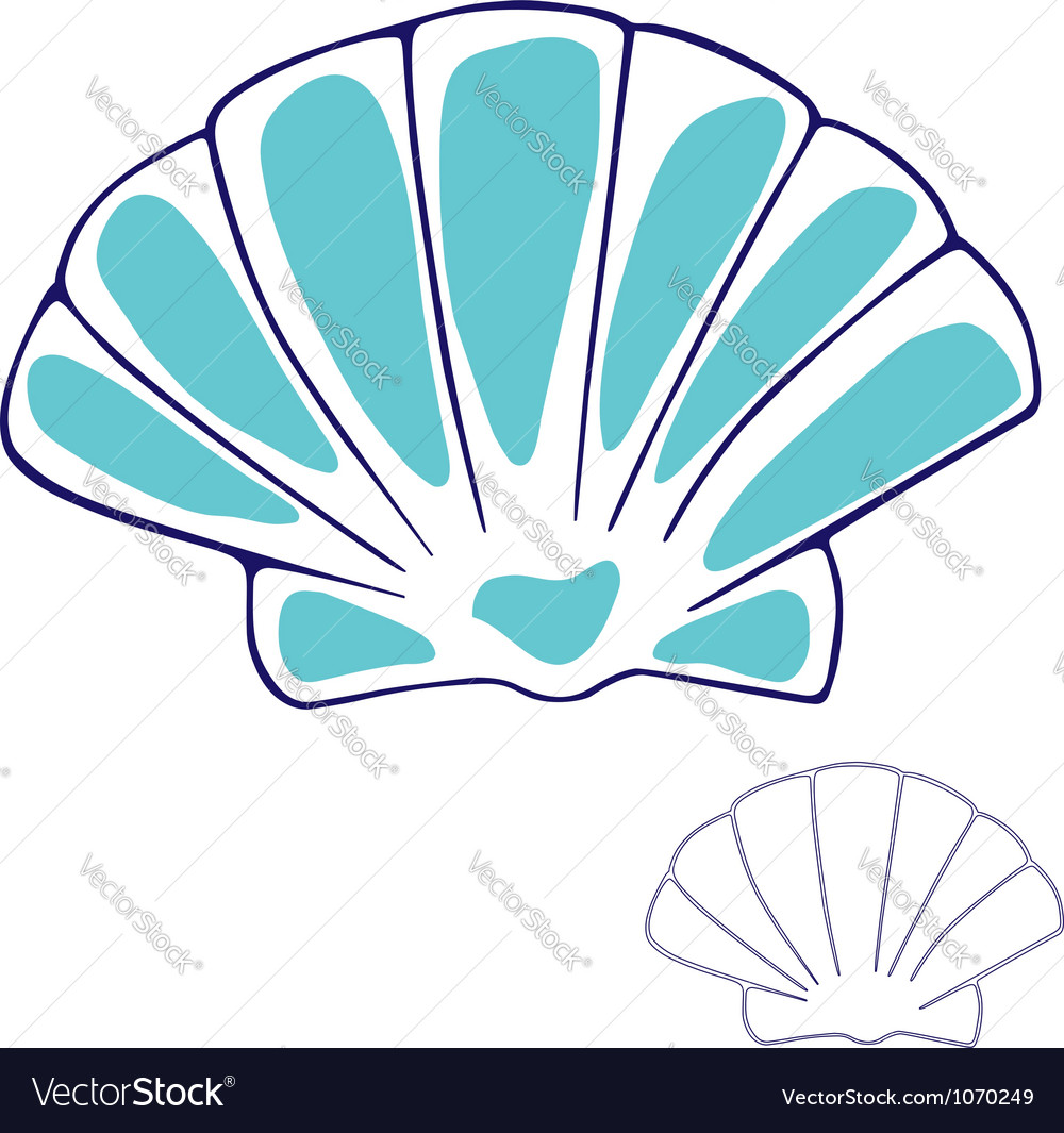 Scallop vector | Price: 1 Credit (USD $1)