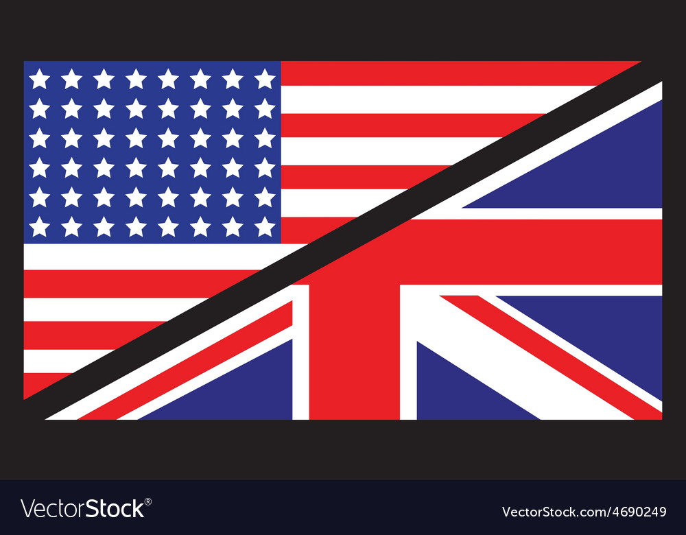 Usa uk flag unity1 vector | Price: 1 Credit (USD $1)