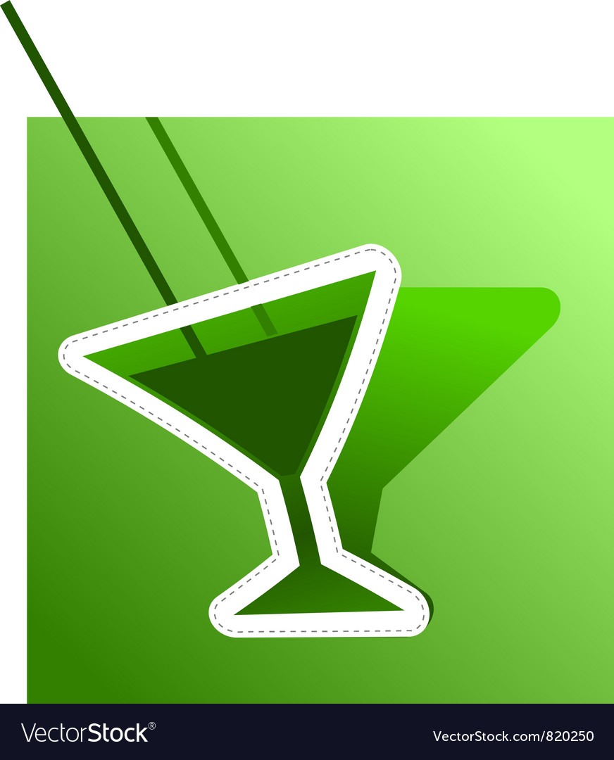 Abstract image of absinthe vector | Price: 1 Credit (USD $1)