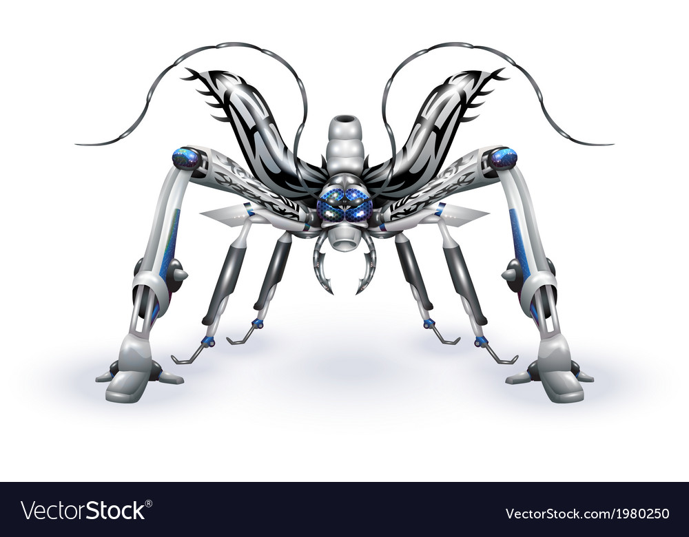 Robot-insect vector | Price: 1 Credit (USD $1)