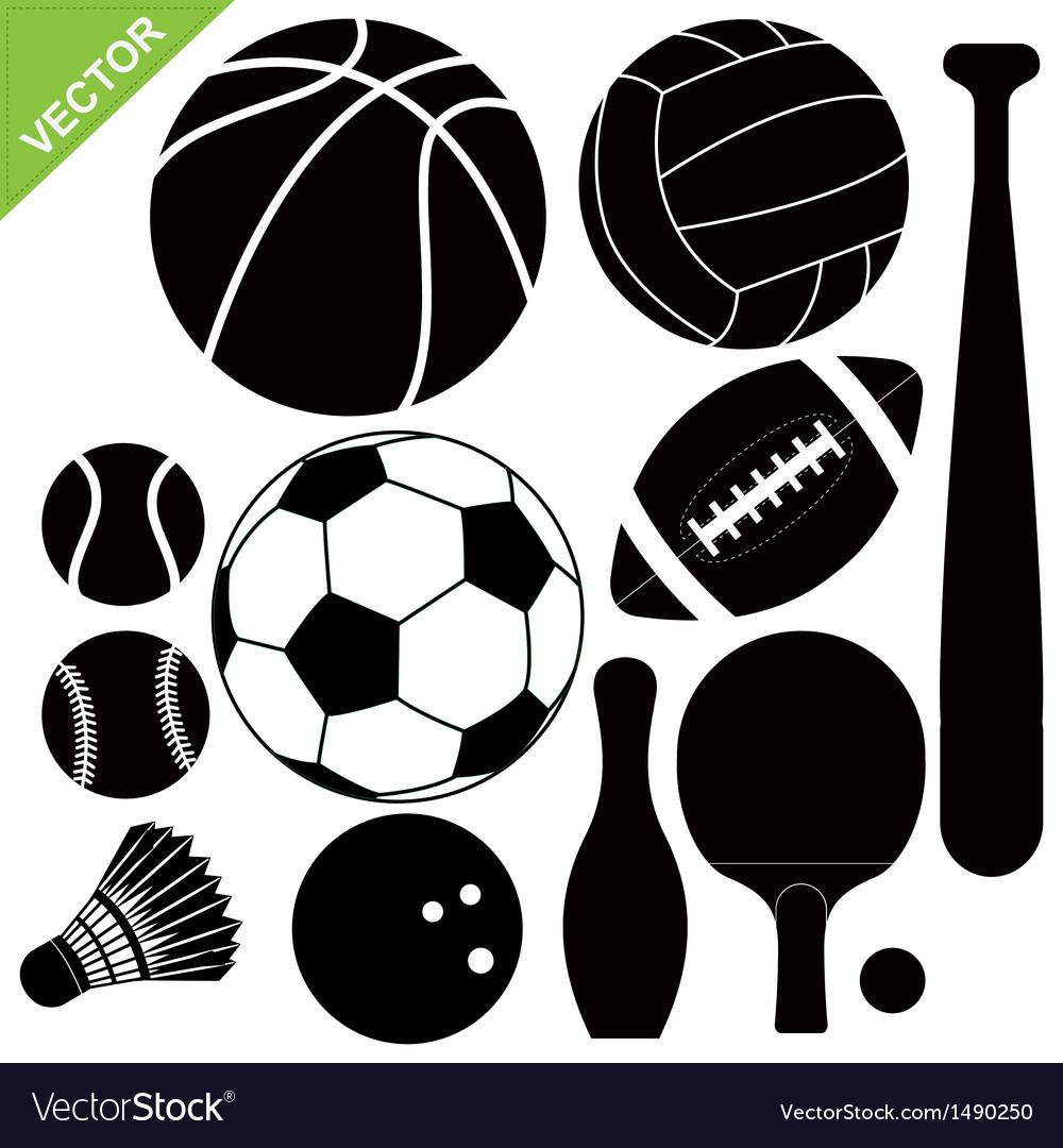 Sport equipment vector   Price: 1 Credit (USD $1)