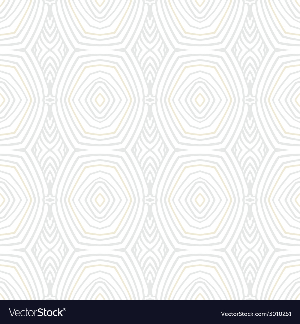 White vintage geometric texture in 1960s style vector | Price: 1 Credit (USD $1)