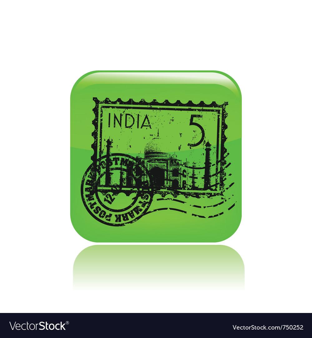 India icon vector | Price: 1 Credit (USD $1)