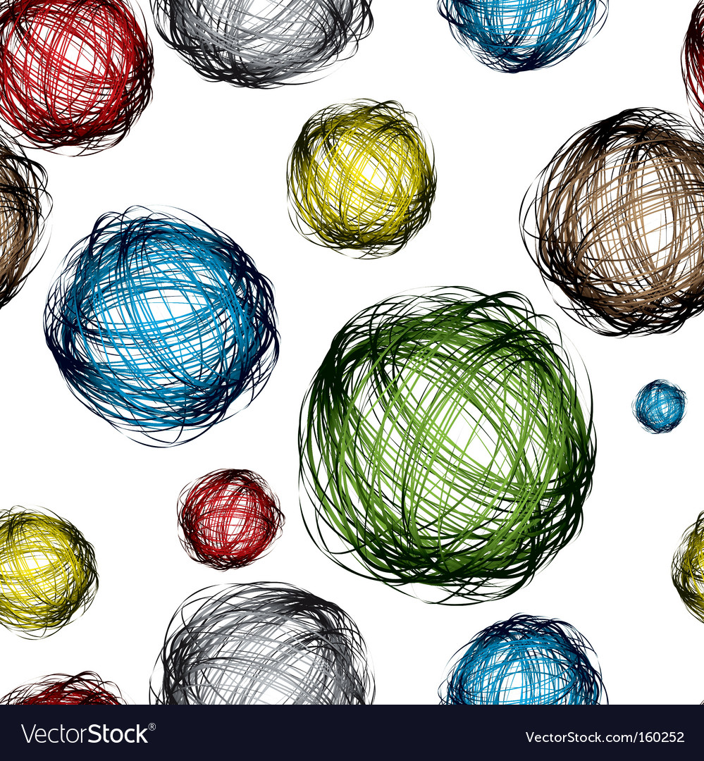 Scribble ball vector | Price: 1 Credit (USD $1)