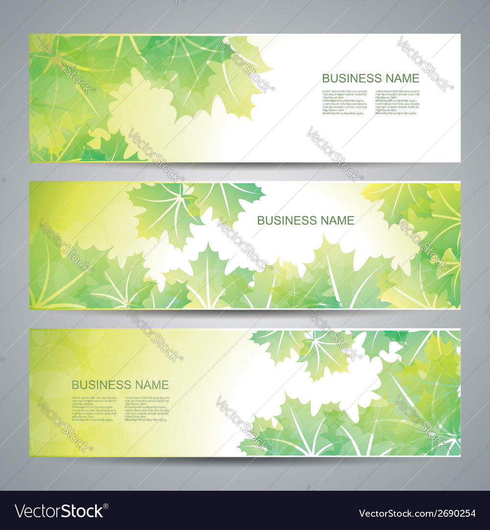 Nature background with green fresh leaves vector | Price: 1 Credit (USD $1)