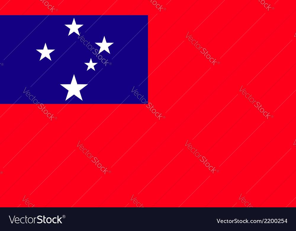 Samoa vector | Price: 1 Credit (USD $1)