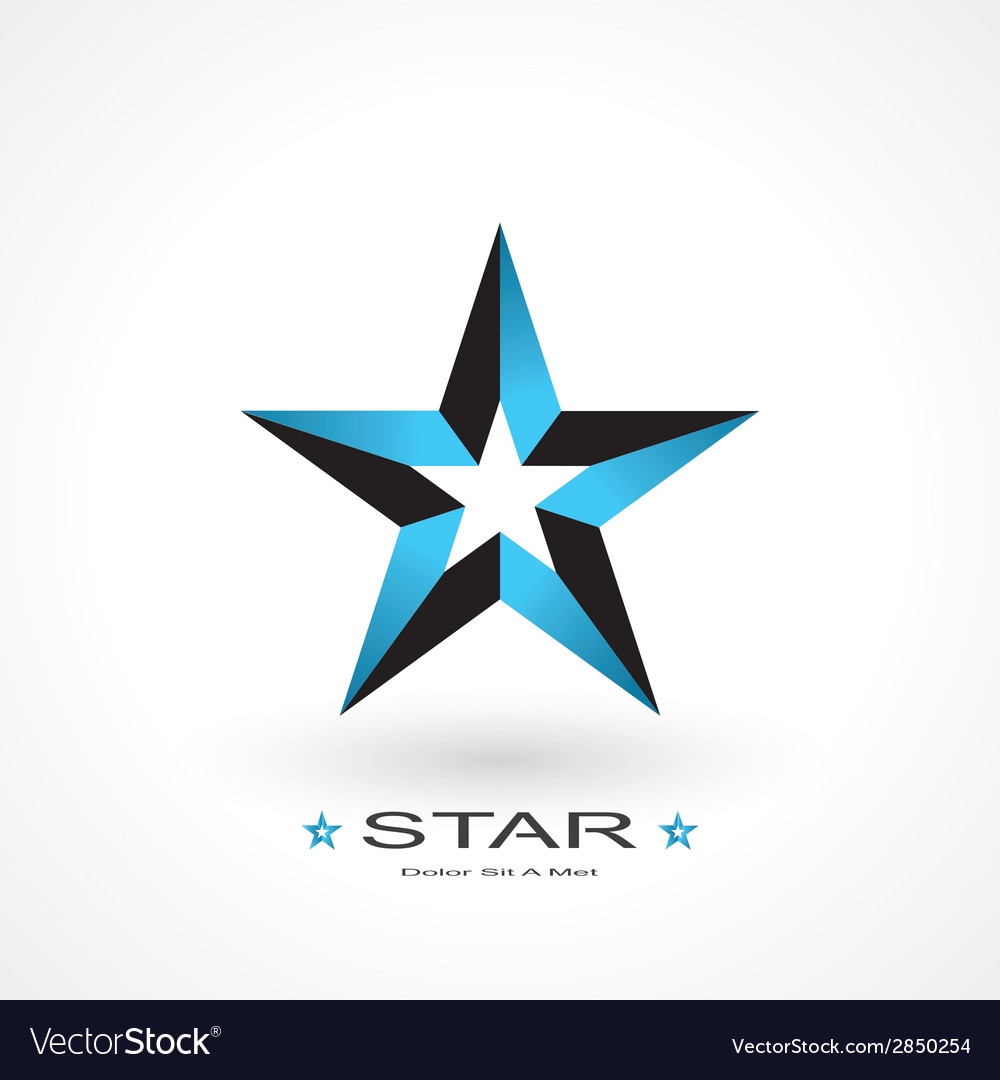 Symbol of star vector | Price: 1 Credit (USD $1)