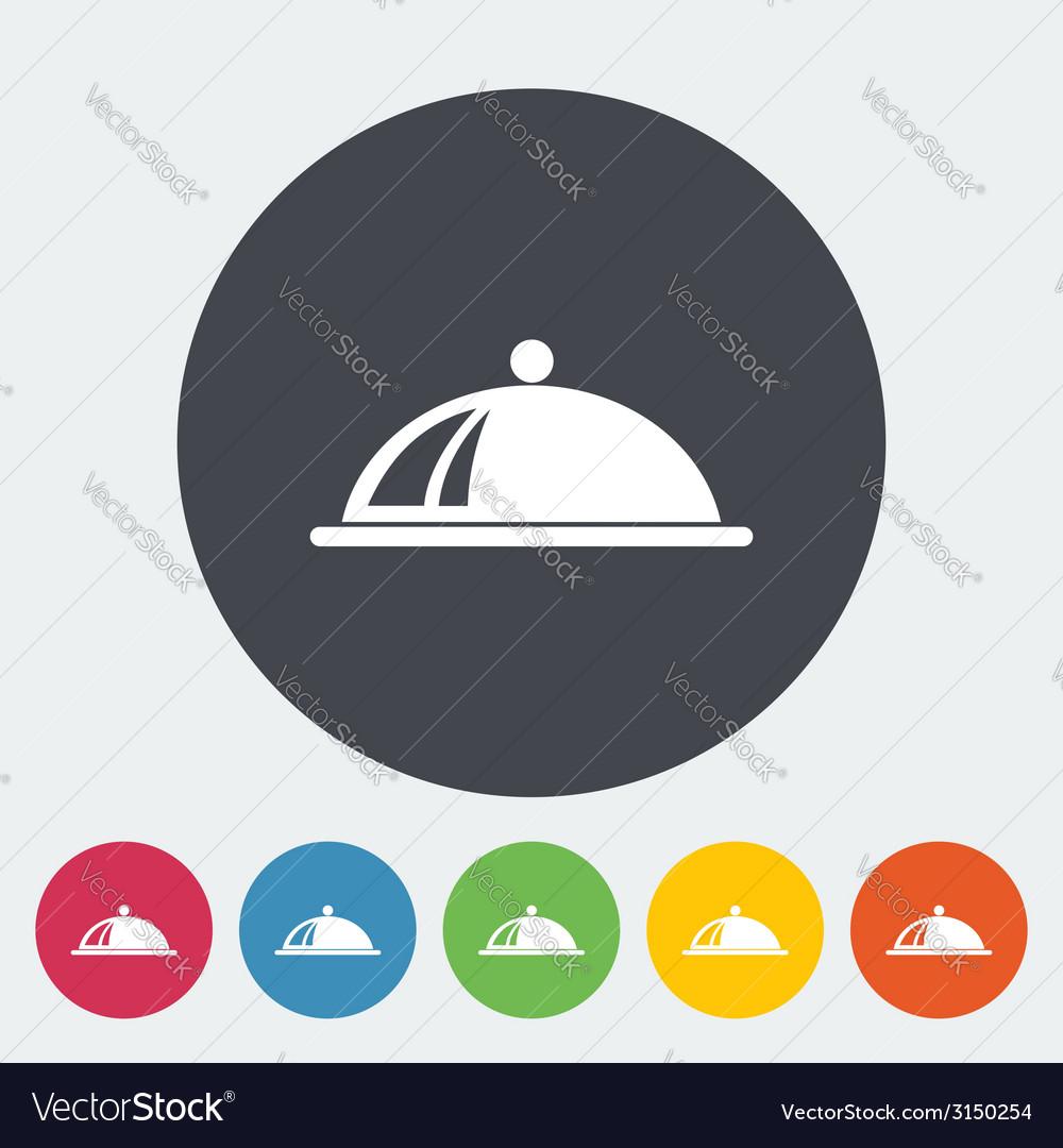 Tray icon vector | Price: 1 Credit (USD $1)