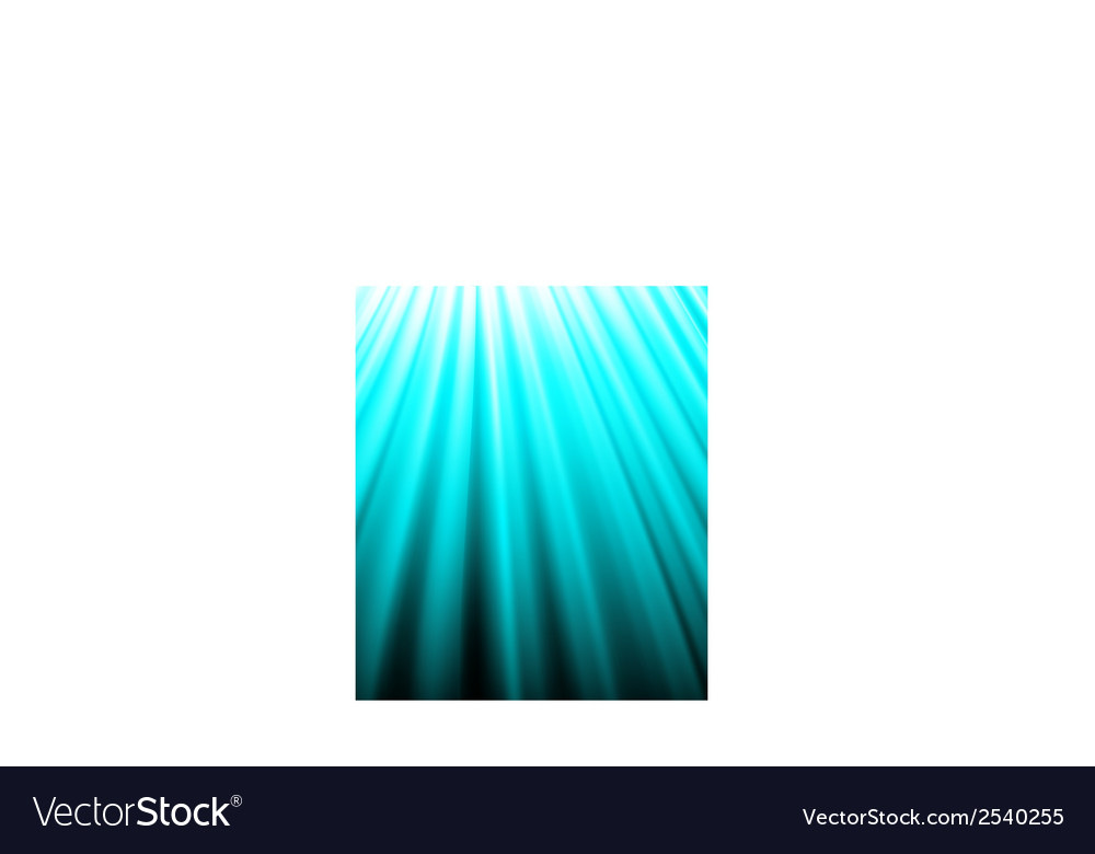 Background of blue luminous rays vector | Price: 1 Credit (USD $1)