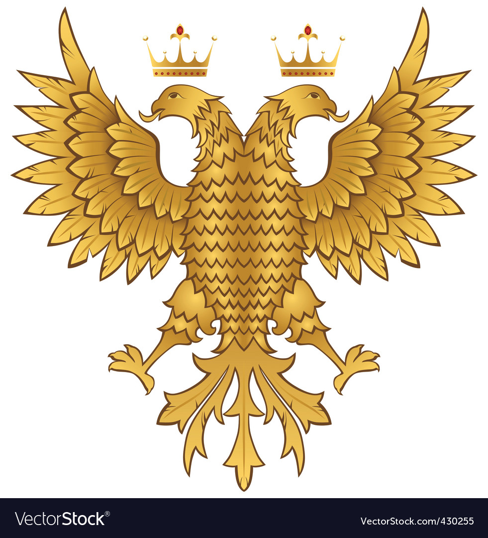 Golden eagle vector | Price: 1 Credit (USD $1)