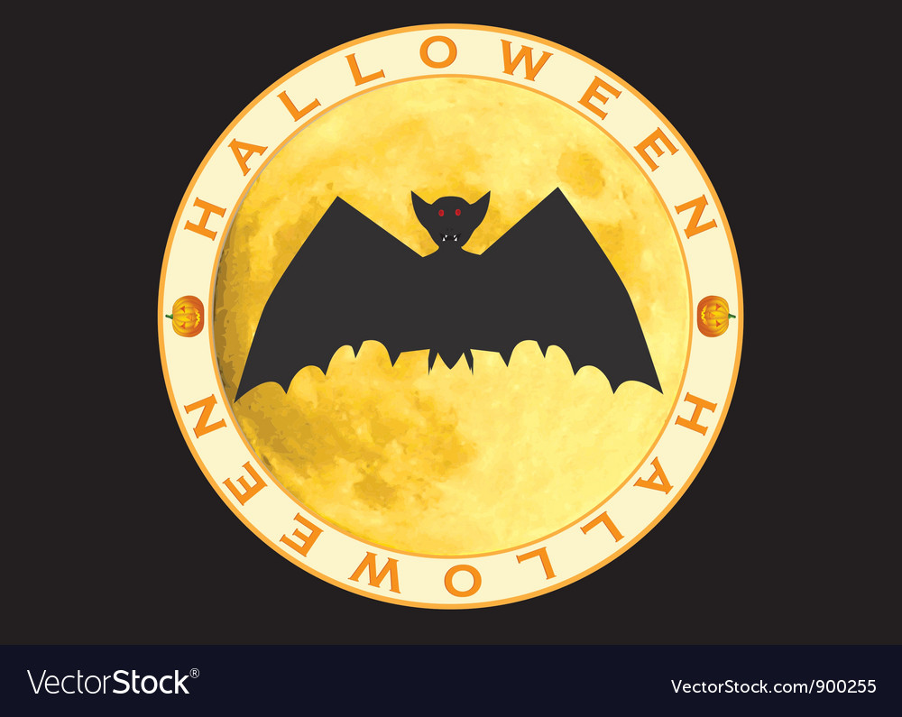 Halloween sign vector | Price: 1 Credit (USD $1)