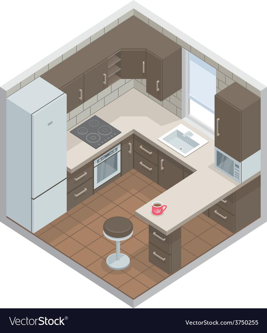 Kitchen vector | Price: 1 Credit (USD $1)