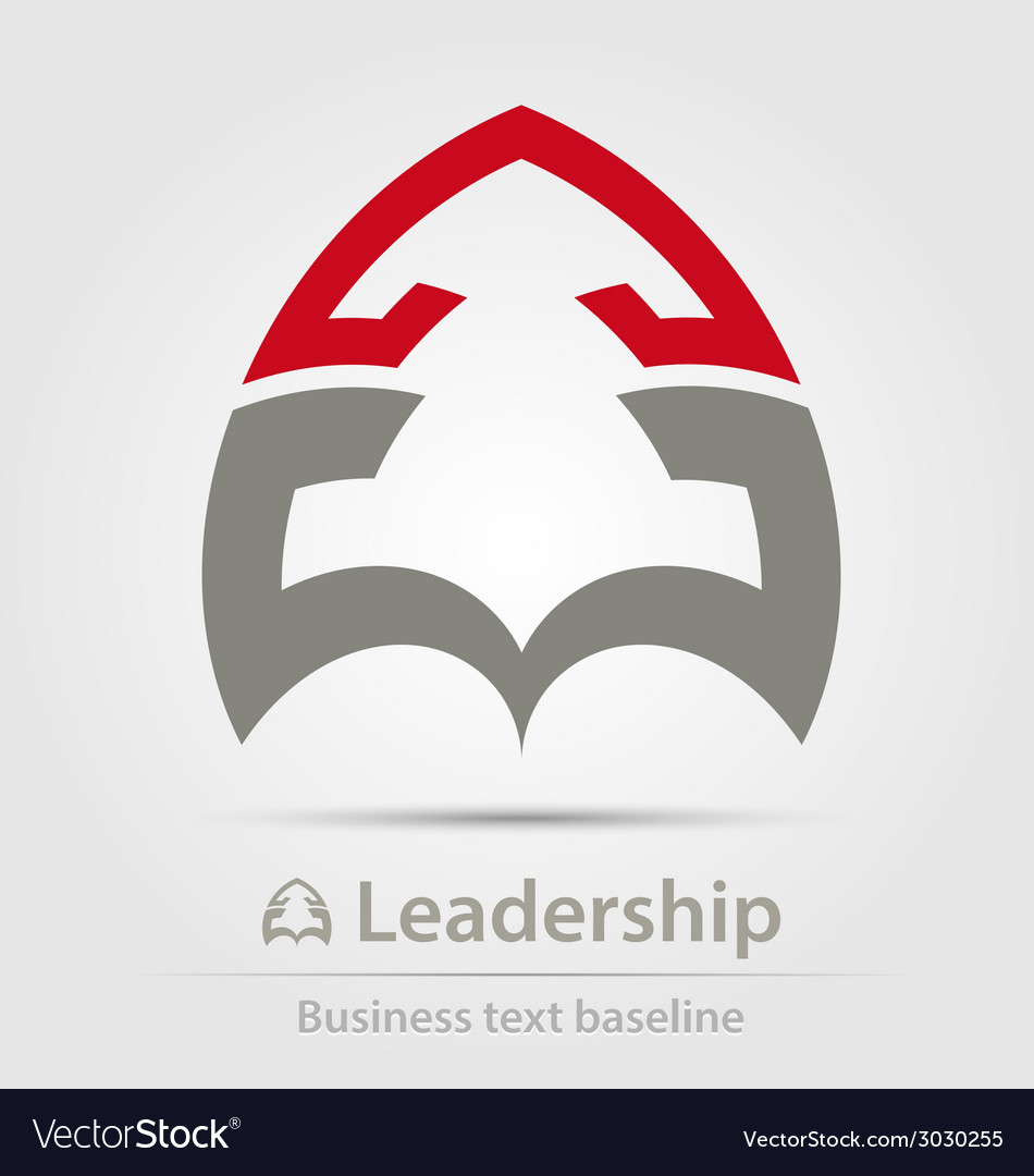 Leadership business icon vector | Price: 1 Credit (USD $1)