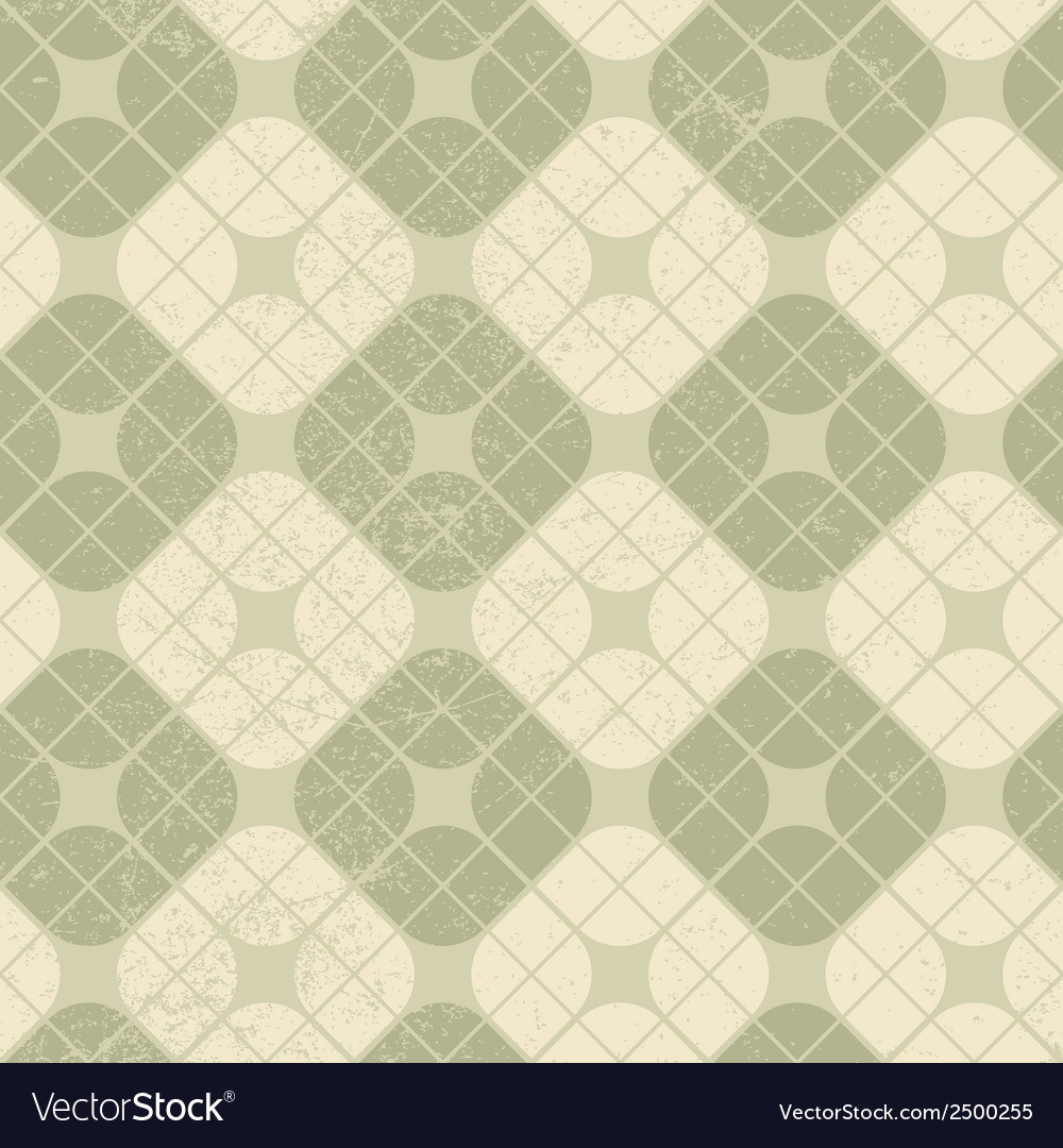 Light vintage squared seamless pattern geometric vector | Price: 1 Credit (USD $1)