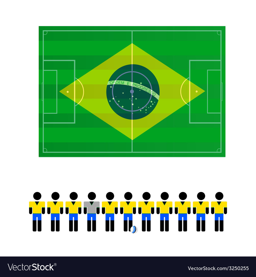World cup sign color vector | Price: 1 Credit (USD $1)
