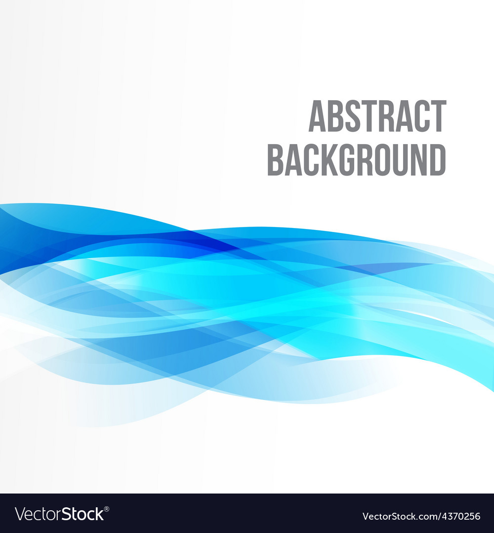 Abstract background light blue curve and wave vector | Price: 1 Credit (USD $1)