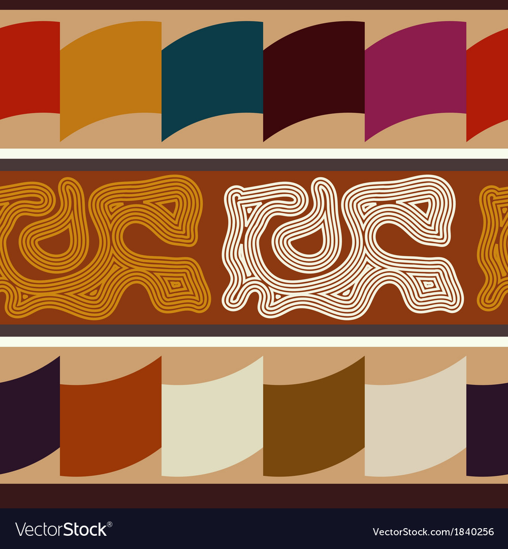 Indian ethnic abstract seamless texture vector | Price: 1 Credit (USD $1)