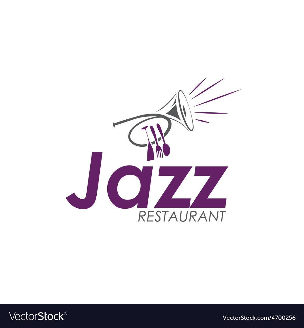 Restaurant with jazz music vector | Price: 1 Credit (USD $1)