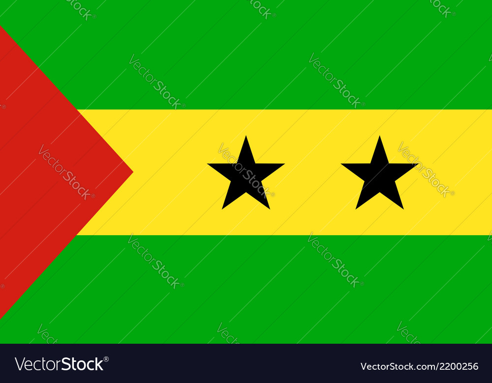 Sao tome and principe vector | Price: 1 Credit (USD $1)