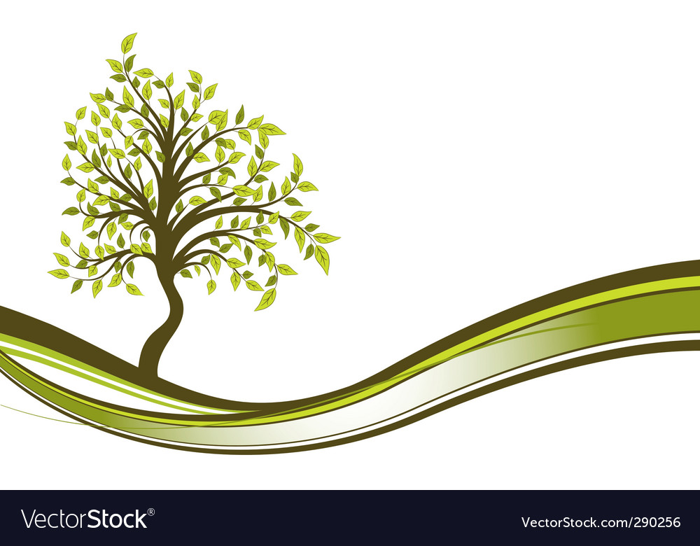 Tree abstract background vector | Price: 1 Credit (USD $1)