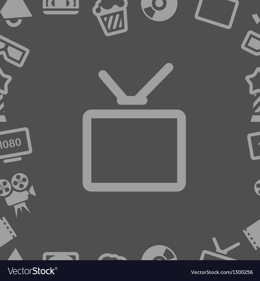 Tv collection isolated on white vector | Price: 1 Credit (USD $1)