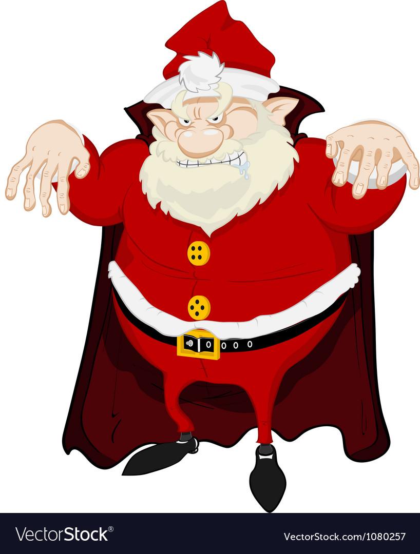Dreadful santa vector | Price: 3 Credit (USD $3)