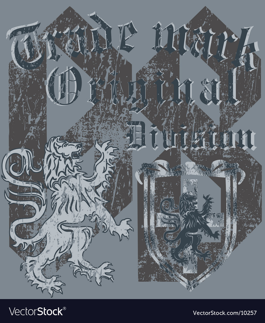 Shield heraldic vector | Price: 1 Credit (USD $1)