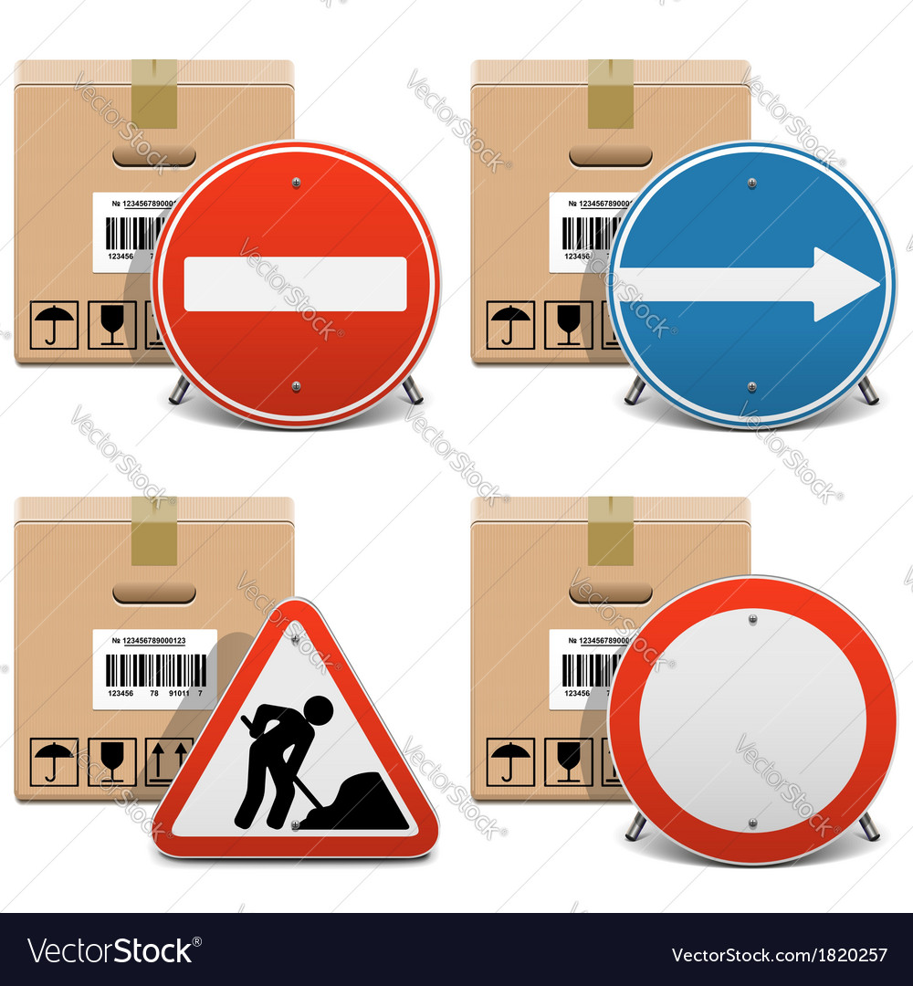 Shipment icons set 23 vector | Price: 3 Credit (USD $3)