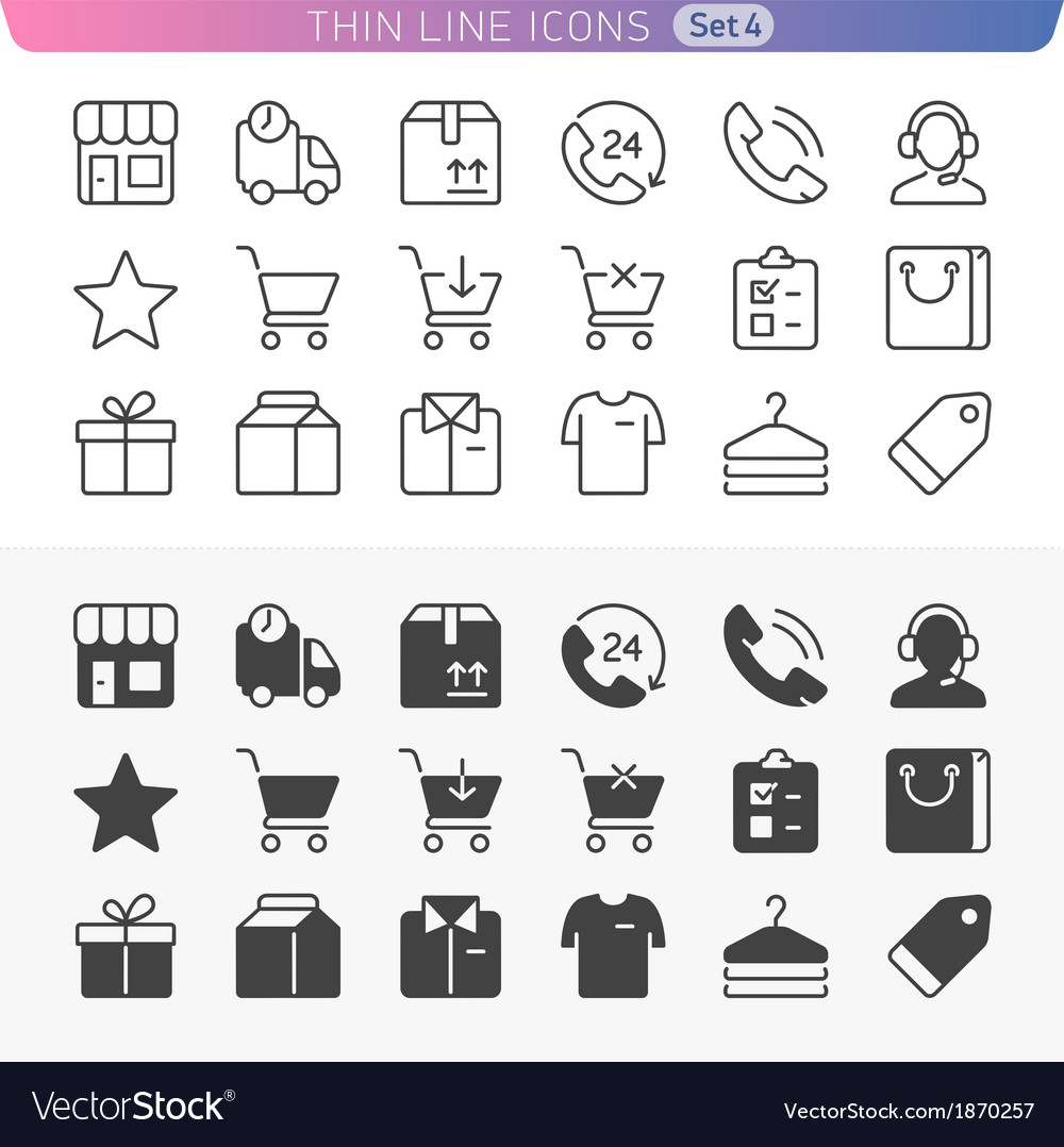 Shopping and money set vector | Price: 1 Credit (USD $1)