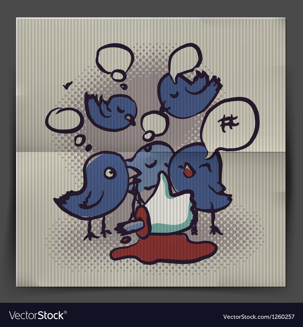 Social media discussion vector | Price: 1 Credit (USD $1)
