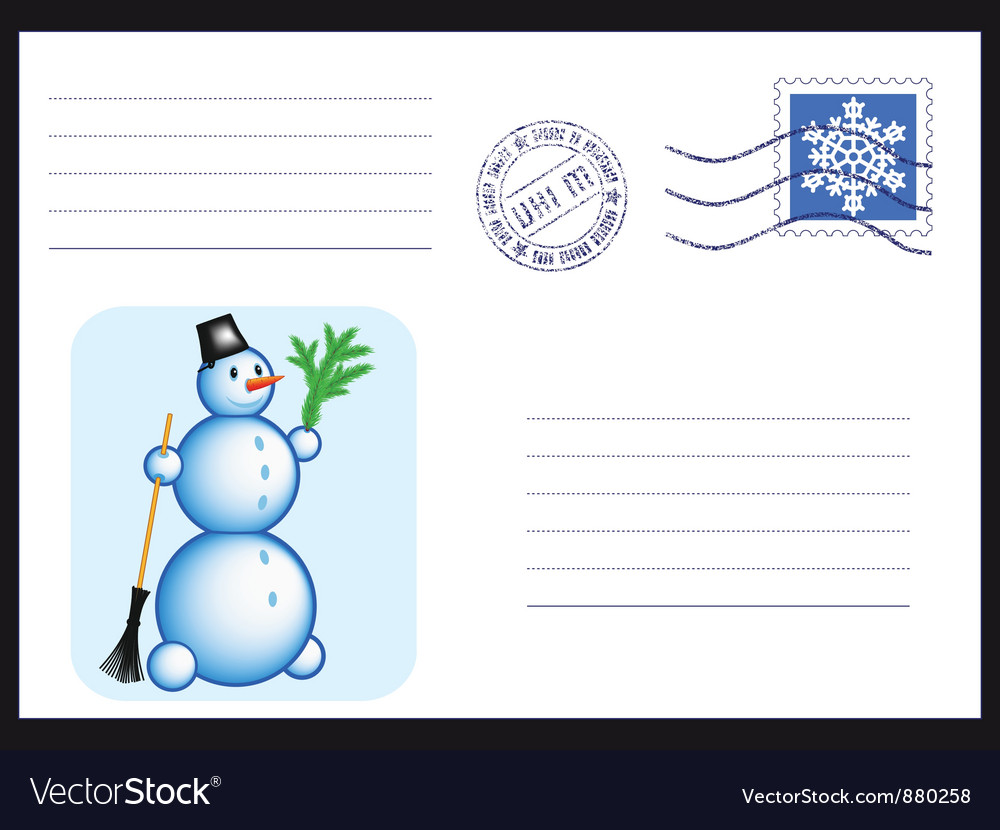 Envelope on black vector | Price: 1 Credit (USD $1)