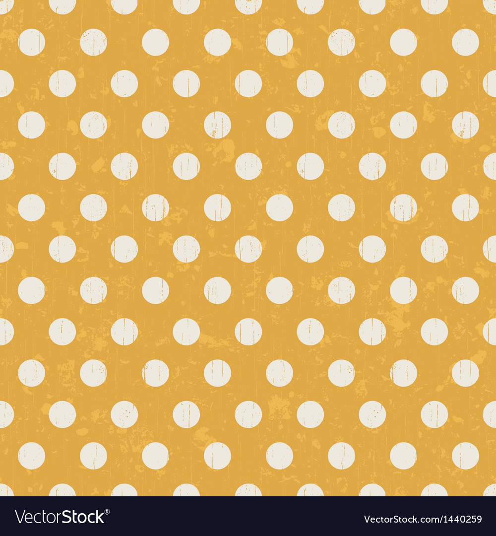 Seamless pattern with white polka dots vector | Price: 1 Credit (USD $1)