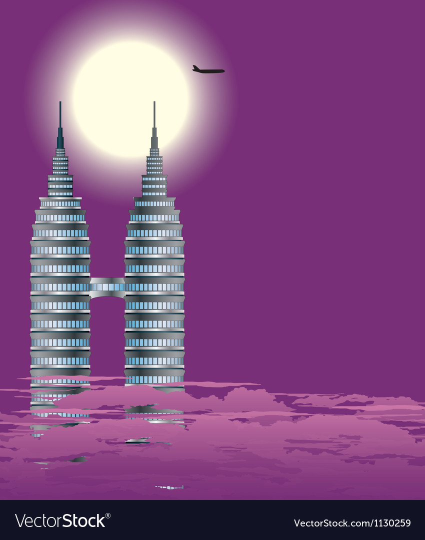Sky-scraper vector | Price: 1 Credit (USD $1)