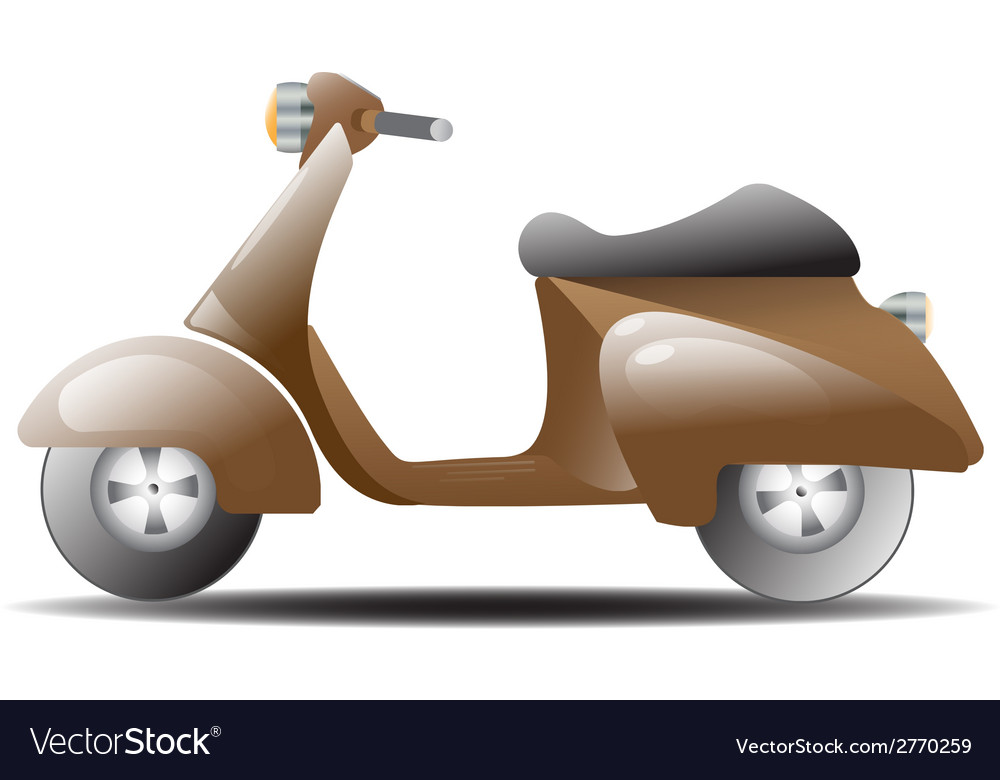 Vespa1 vector | Price: 1 Credit (USD $1)
