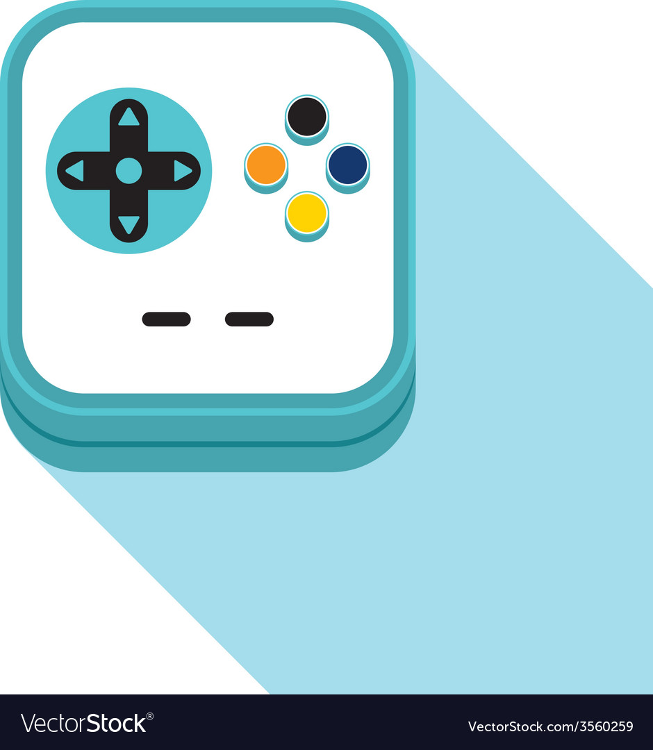 Video game icon vector | Price: 1 Credit (USD $1)