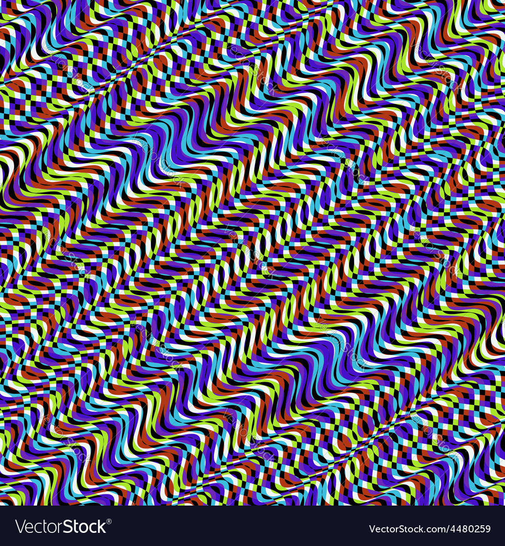 Wavy volume background pattern with optical vector | Price: 1 Credit (USD $1)