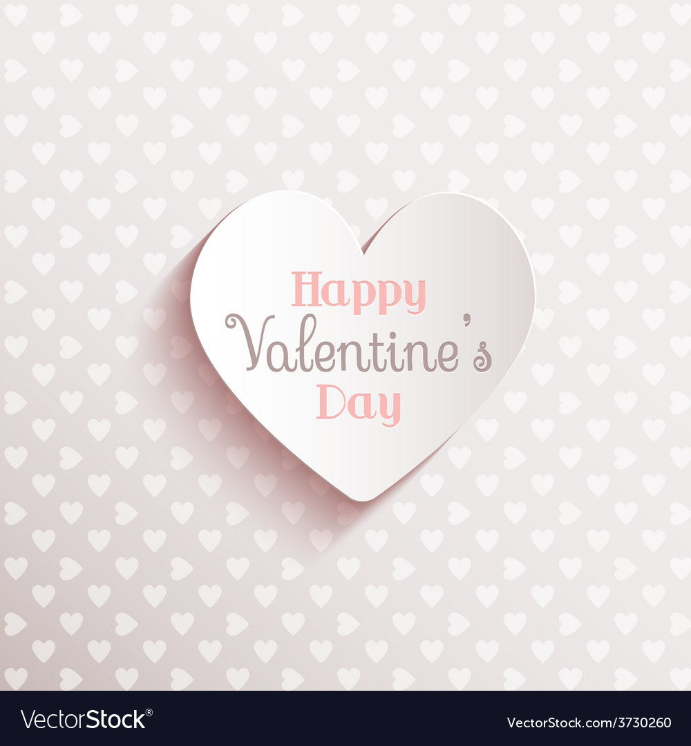Happy valentines day background 1612 vector | Price: 1 Credit (USD $1)