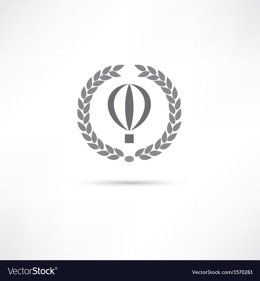 Balloon icon vector | Price: 1 Credit (USD $1)