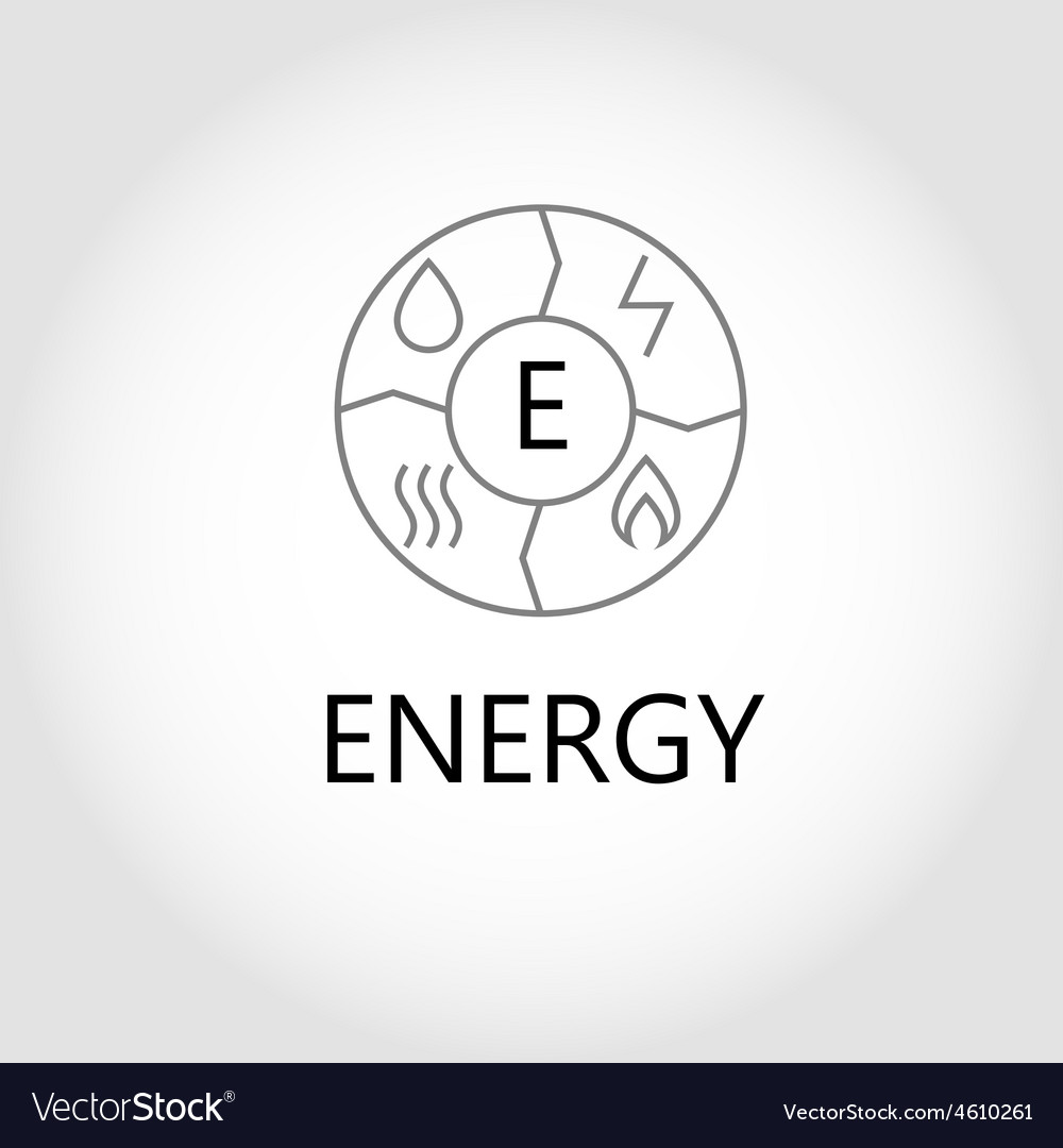 Energy logo vector | Price: 1 Credit (USD $1)