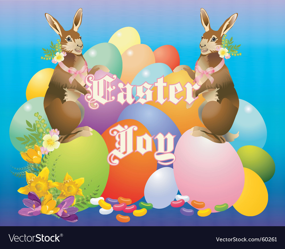Victorian bunny vector | Price: 1 Credit (USD $1)