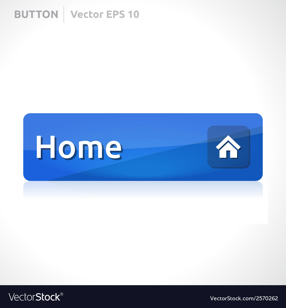 Home button template vector | Price: 1 Credit (USD $1)