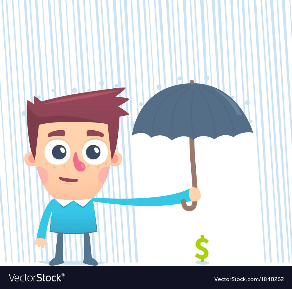 Wealth in safe hands vector | Price: 1 Credit (USD $1)