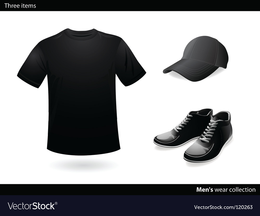 Menswear collection vector | Price: 1 Credit (USD $1)