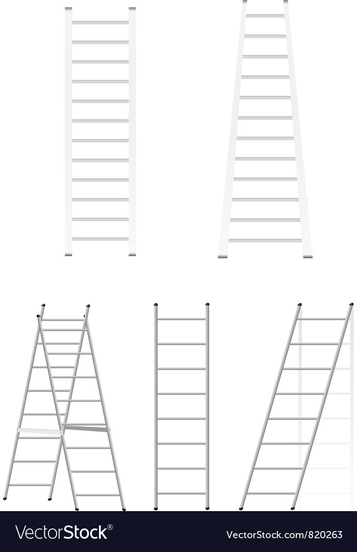 Set ladders vector | Price: 1 Credit (USD $1)